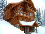 Private home on Schweitzer Mountain