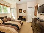 2nd bedroom w TV