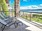 Covered lanai with unforgettable views!
