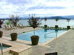 Year-round outdoor heated pool and hot tubs!