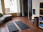 Yoga room for your use anytime