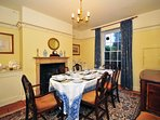 Large Anglesey holiday house Beaumaris - dining room