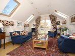 Pembrokeshire Coast National Park holiday cottage - sitting room with sea views