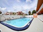 Tropic Breezes Pool Area