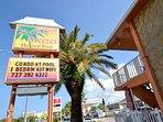 Tropic Breezes Sign on Gulf Blvd