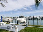 Yachts at your back door!