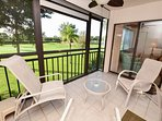 La Puerta 9-252 Updated Condo with Screened Balcony, Golf Course View w/WiFi!