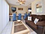 Living Area with Sleeper sofa