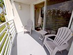 Balcony with Seating
