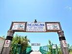 Redington Long Pier is just down the street