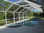 Superb pool and spa