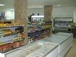 VV Supermarket interior.