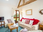Sitting room in Cider Mill Cottage
