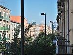 Veduta dal balcone in direzione Portici