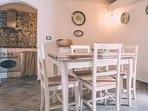 dimora - sala da pranzo