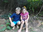 Child Friendly. Anna from Louisiana, Maximilian from Germany. A Great Friendship was established.