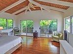 Enjoy balcony access from the master bedroom