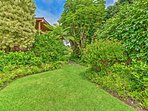 You will become entranced by the property's lush landscaping