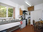 North Pembrokeshire coast - self catering kitchen