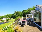 Anglesey holiday home with sea views