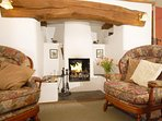 Cosy and warm at 'Inglenook Cottage'
