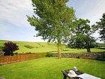 Abersoch holiday cottage garden