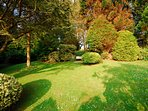 Welsh holiday cottage garden