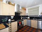 Self-catering cottage in Tresaith - modern kitchen