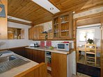 Self-catering cottage near Fishguard - galley style kitchen