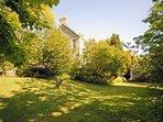 Tresaith Cardiganshire coastal holiday retreat with private garden