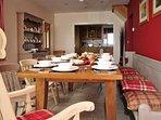 Lleyn Peninsula holiday home near Aberdaron - Dining room