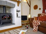 North Pembrokeshire coastal retreat - cosy at any time throughout the year