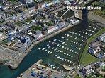 Aberaeron coastal luxury holiday home overlooking the harbour