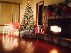 Our house in Christmas time