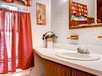 Bathroom 1 sink