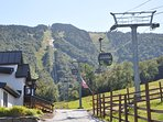 Killington lifts in the Summer