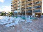 Sandy Shores Pool Lounge Area
