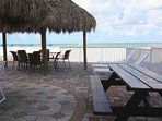 Tiki Hut Area to Relax with Friends and Family by the Beach
