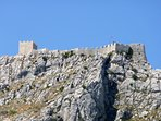 At the top of the Omiš Dinara mountain is a 15th century Fortica Fortress.