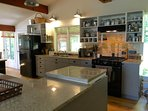 Large functional kitchen