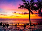 Bali's best sunset on everyday's menu!