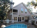 5BR Marsh Beach Home w/ Pool, Hot Tub, Gameroom
