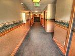 Copper Mountain Inn - Copper Mountain Inn has newly remodeled hallways.