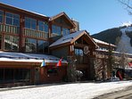 Copper Station - Lift Tickets, shopping and JJ's Tavern just steps away