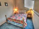 Queen Bedroom - Third level queen bedroom.