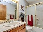 Guest bath - shower.