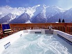 Chalet Serena view from the hot tub