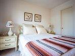 1st bedroom - queen size bed + walk-in closet, full bath