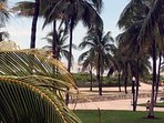 View from the living room-Lummus Park and beach