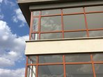 External facade and the beautiful Nairobi sun